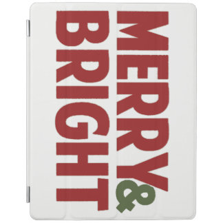Merry and Bright Christmas IPad Smart Cover iPad Cover