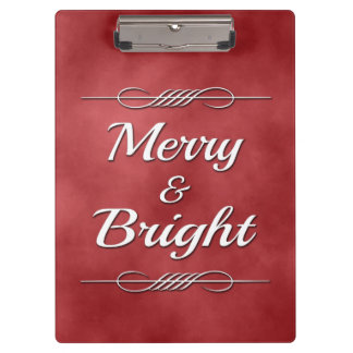 Merry and Bright Clipboard