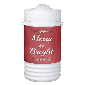 Merry and Bright Drinks Cooler