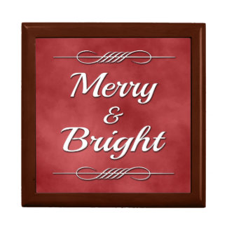 Merry and Bright Gift Box