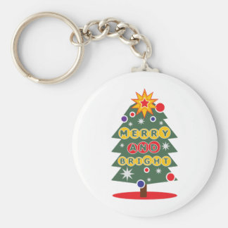 Merry And Bright Keychains