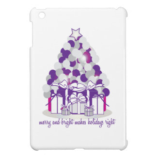 Merry And Bright Makes Holidays iPad Mini Covers