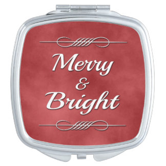 Merry and Bright Makeup Mirrors