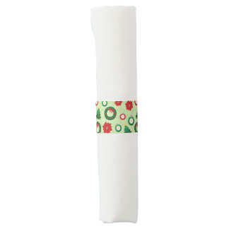 Merry and Bright napkin bands