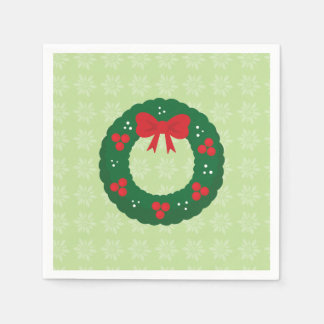 Merry and Bright paper napkins