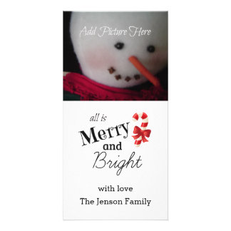 Merry and Bright Photo Card