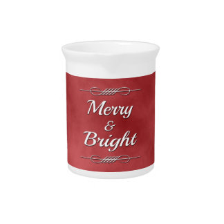 Merry and Bright Pitcher