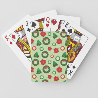 Merry and Bright playing cards