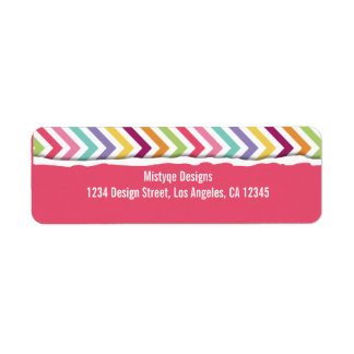 Merry and Bright Return Address Labels