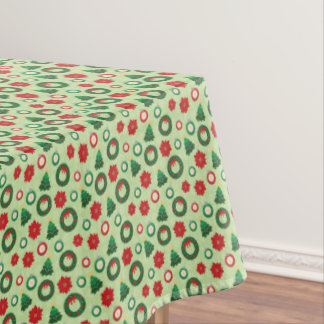 Merry and Bright tablecloth