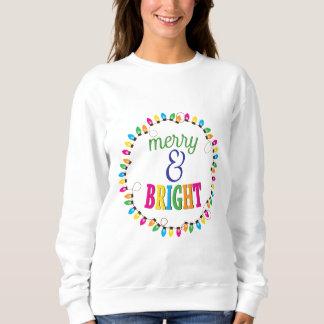 Merry and Bright Ugly Christmas Sweatshirt