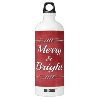 Merry and Bright Water Bottle