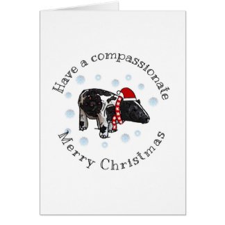 Merry and CompassionateChristmas Card