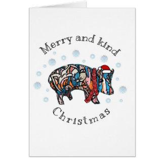 Merry and Kind Christmas Card