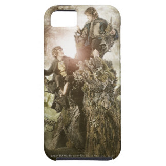 Merry and Peregrin on Treebeard iPhone 5 Covers