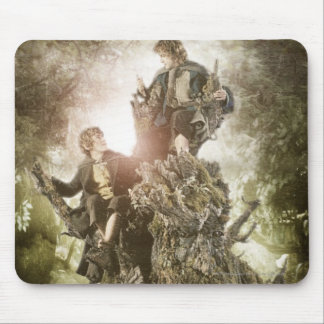 Merry and Peregrin on Treebeard Mouse Pad