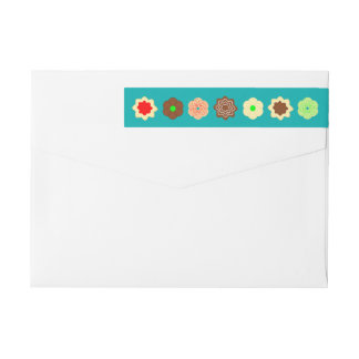 Merry And Sweet Wrap Around Label