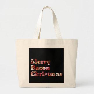 Merry Bacon Christmas Bag