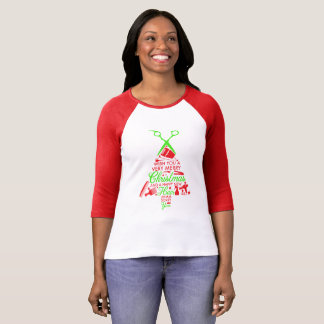 Merry Beauty Christmas T-Shirt
