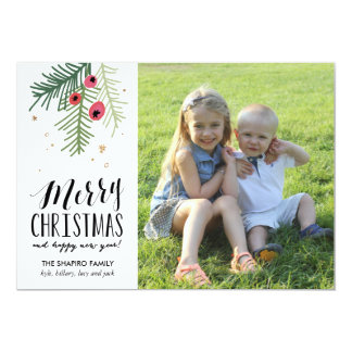 Merry Berry Collection 13 Cm X 18 Cm Invitation Card