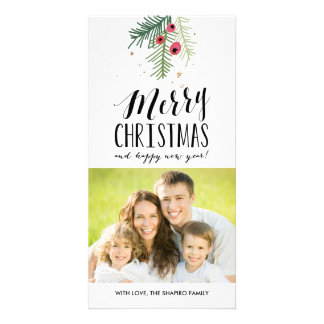 Merry Berry Collection Customised Photo Card