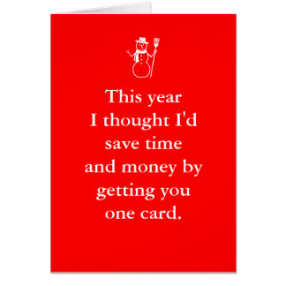 Merry Birthmas December Christmas Birthday Card
