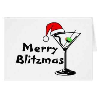Merry Blitzmas Card