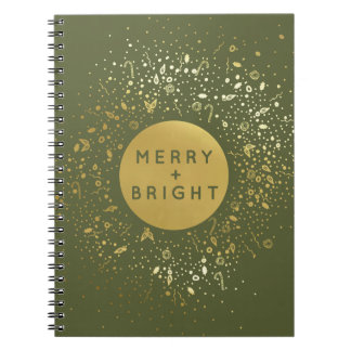 Merry + Bright Notebook