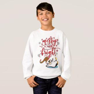 Merry & Bright Penguin Sweatshirt