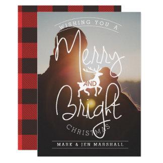 Merry & Bright | Photo Holiday Card