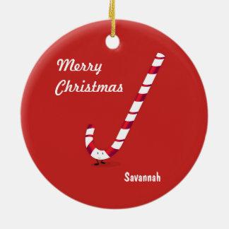 Merry Candy Cane | Ceramic Ornament