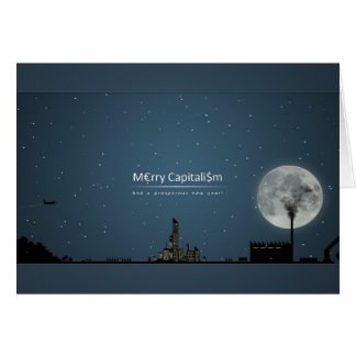 Merry Capitalism Christmas Card