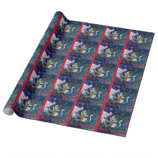 Merry Caturday wrapping paper