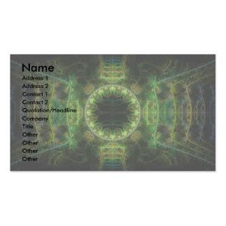 Merry Chameleon Fractal Art Business Card Templates