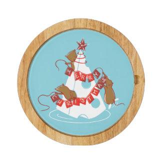Merry Cheesemas Holiday Cheese Board Set