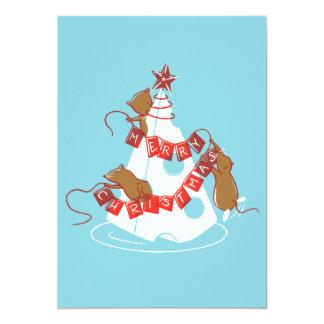 Merry Cheesemas Holiday Party Invites
