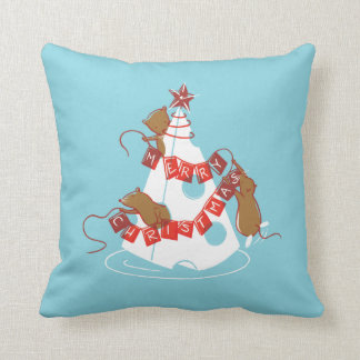Merry Cheesemas Holiday Pillow