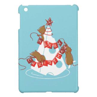 Merry Cheesemas Retro Christmas iPad Mini Case