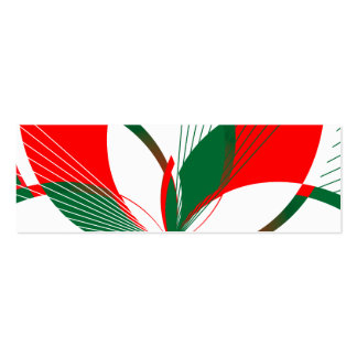 Merry Cherry Mint (Business Card) Gift Tags