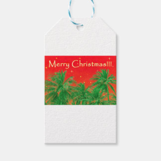 Merry Chirstmas Design Gift Tags