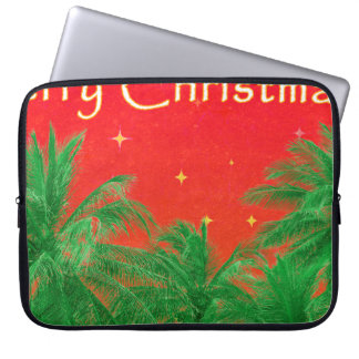 Merry Chirstmas Design Laptop Sleeves