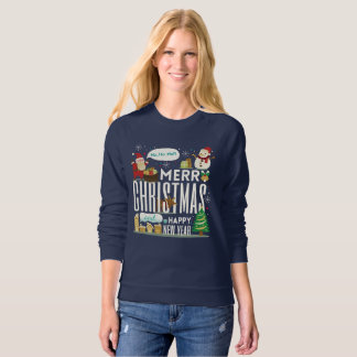 Merry Chrismas And Happy New Year Sweate Sweatshirt