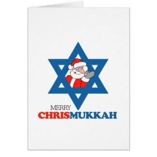 Merry Chrismukkah - Card