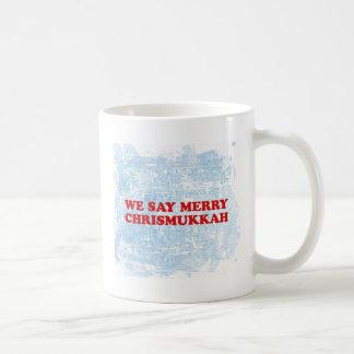 merry chrismukkah coffee mug