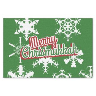 Merry Chrismukkah Tissue Paper