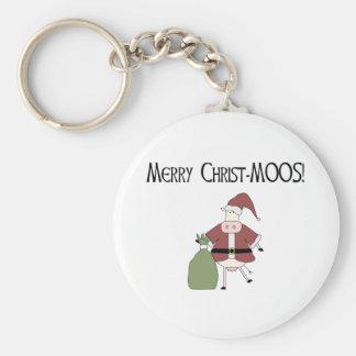 Merry Christ-MOOS Key Chain