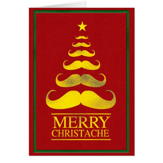 Merry Christache Tree Card