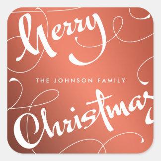 MERRY CHRISTMAS #1 | SHINY | STICKER