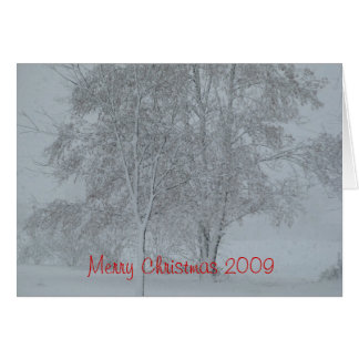 Merry Christmas 2009 Card