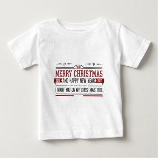 Merry Christmas 2016 Baby T-Shirt
